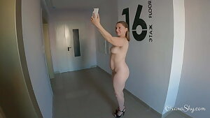 Public dare. Downright nude selfies with cum on my face