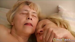 OmaPasS Fledgling Grannies Porn Action Compilation