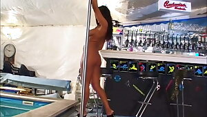 MILF strip tease