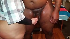My manager could't keep his manstick in my ass, his cum was dripping in me and it was hot.