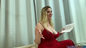 Stepmom wants her stepson's cum to get pregnant