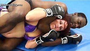 Bi-racial MMA Intergender Fight