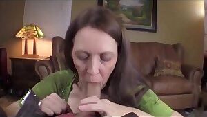 MOMSEX50.COM: son fucks all holes of his ugly mommy