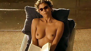 Nude Celebrities in Sunbathing Scenes vol 1