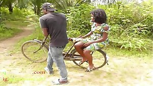The Only Guy Man Who Own Bicycle In The Village Poked All The Village Girls And People Wives In The Bush