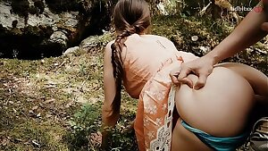 Forest Quickie with Horny Teen Public Hookup