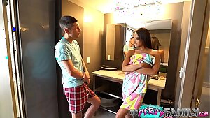 Cheating Mom Nearly Caught With Step Son (Part 1) - Gia Vendetti -