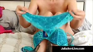 JOE! JOI! Busty Cougar Julia Ann Says Nasty Things In Undies