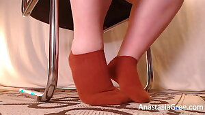 Worship cute wifey feet